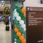 Dublino - Arrivo in aeroporto. Happy St.Patrick's Day