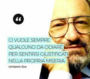 Umberto Eco e le persone cattive