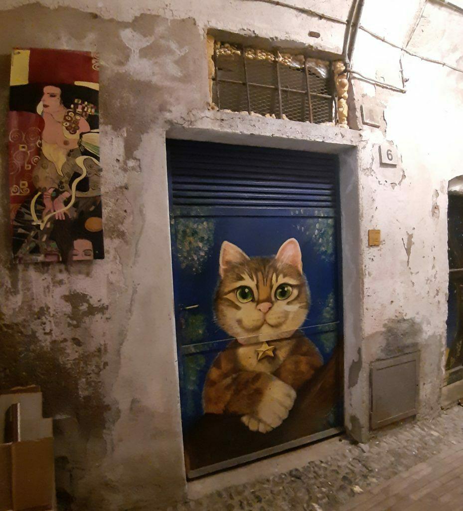 Caruggi degli artisti Albenga