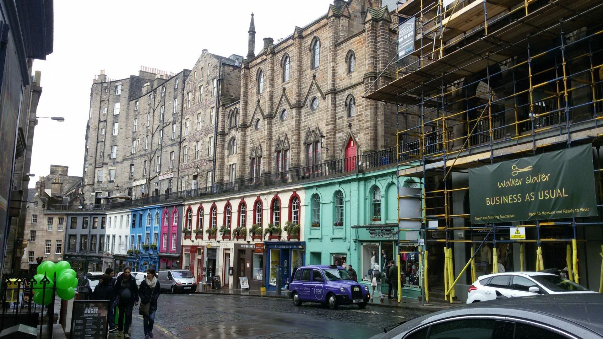 Edinburgo – il vento non ferma la bellezza
