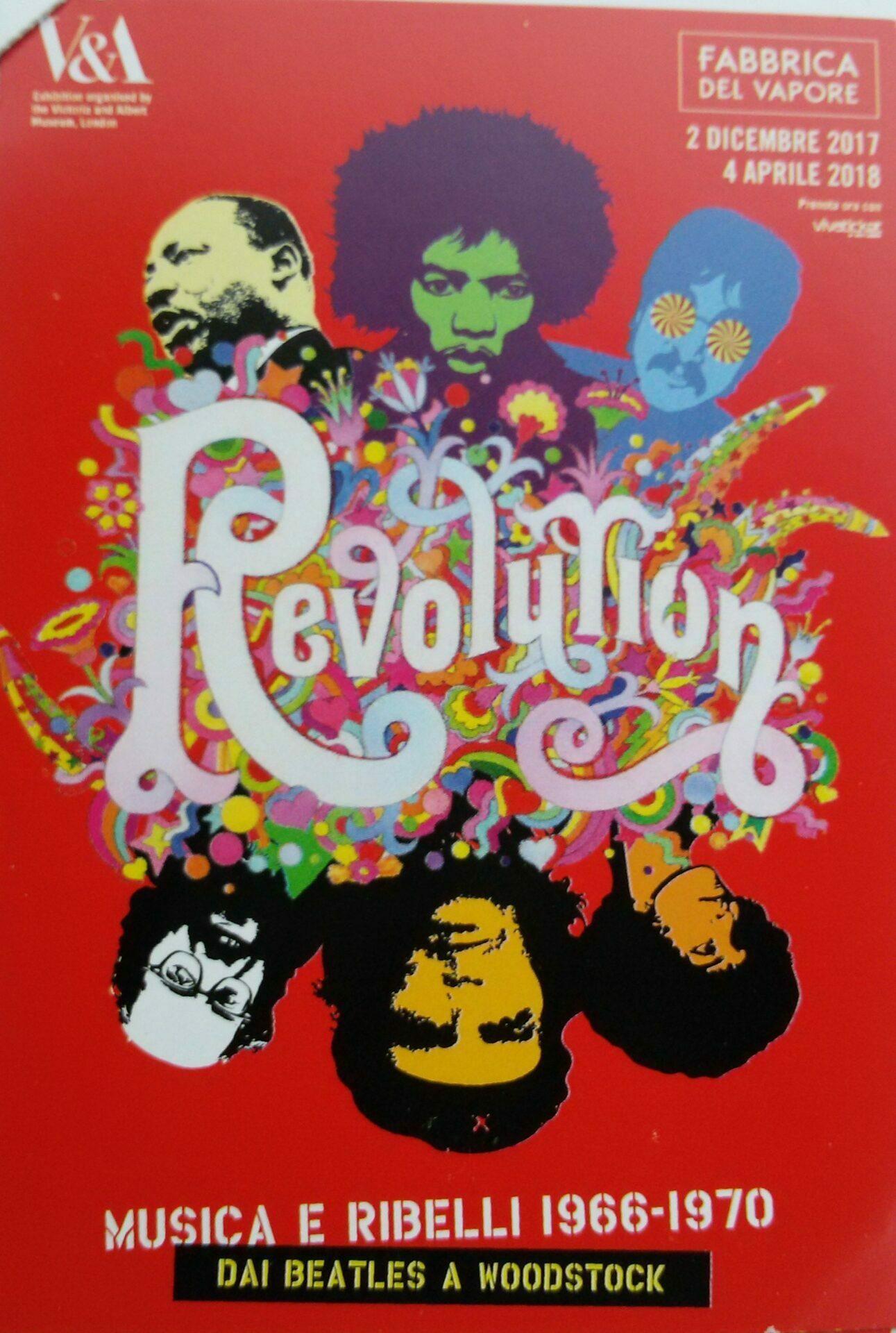 Revolution – la mostra
