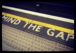 Londra - Mind the gap