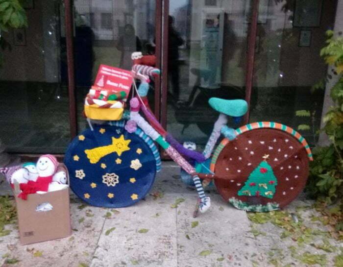 Borgarello e il knitting urbano