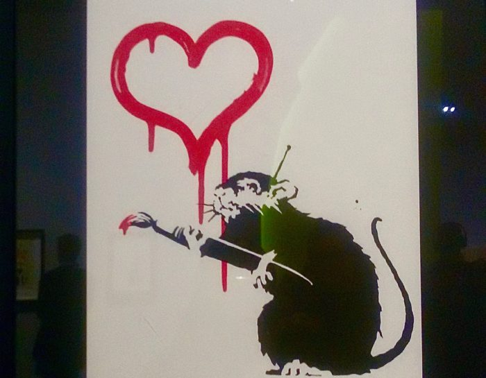 The art of Banksy – A visual protest