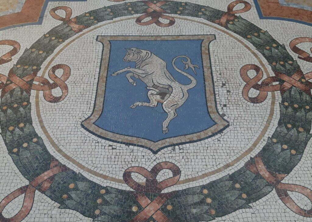 Toro di Galleria Vittorio Emanuele
