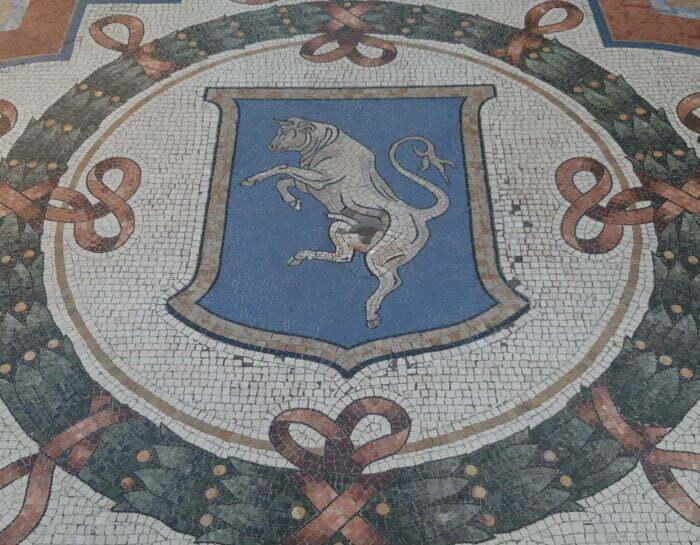 Il toro di Galleria Vittorio Emanuele